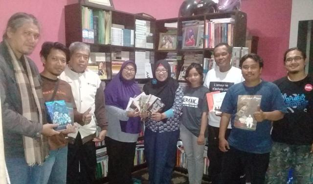 Sastrawan Sleman Sambut Hangat Kedatangan Komite Sastra Dewan Kesenian Medan