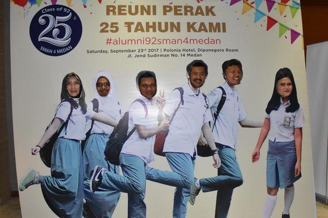Tengku Erry Ajak Alumni SMAN 4 Bersama Membangun Sumut Paten