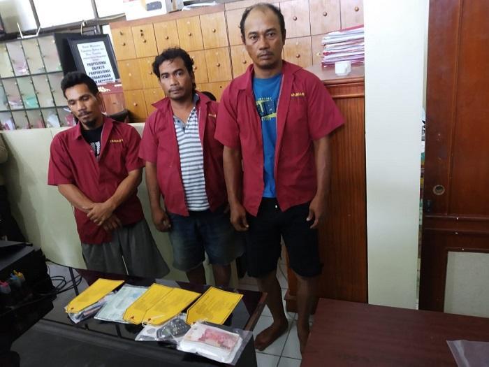 Tiga Pelaku Pemeras Toko Alfamart Simpang Pemda Diringkus Polisi