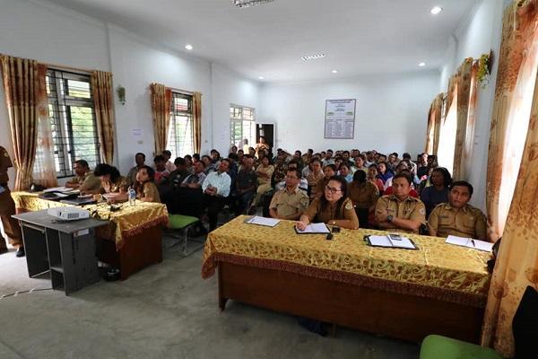 Pemkab Samosir dan Petani Lakukan Koordinasi Pengendalian OPT Holtikultuta Bawang Merah