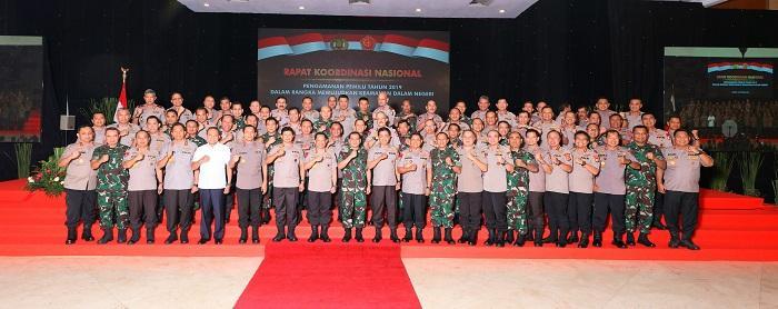 Panglima TNI: Netralitas TNI-Polri di Bidang Pengamanan Kunci Keberhasilan Pemilu 2019