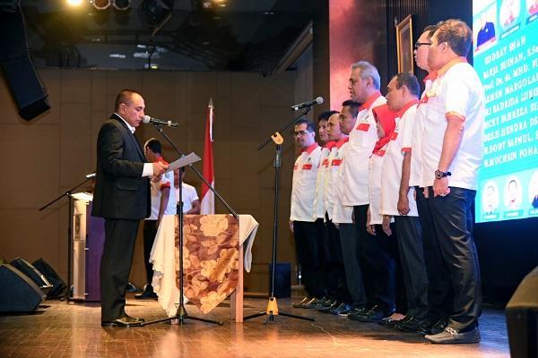 Kodrat Shah Dilantik jadi Ketua Asprov PSSI Sumut, Edy Rahmayadi Minta Daerah Harus Bekerja dan Punya Klub