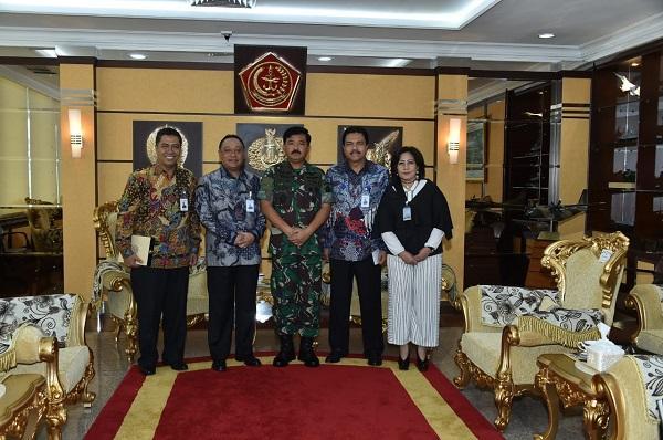 Bangun Rumah Prajurit, Panglima TNI Dukung Kerjasama Perumahan dengan PT BTN