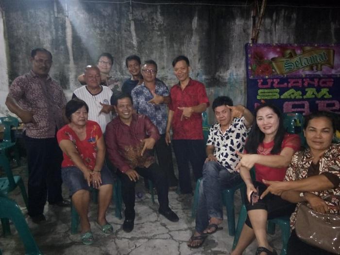 Arifin Hadiri Perayaan Ultah Dewa Sam Ong Hu di Medan Johor