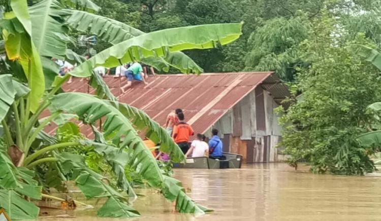 Hujan Deras, Kota Medan dan Binjai Terendam Banjir