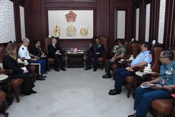 Panglima TNI Terima Kunjungan Kehormatan Dubes AS untuk Republik Indonesia