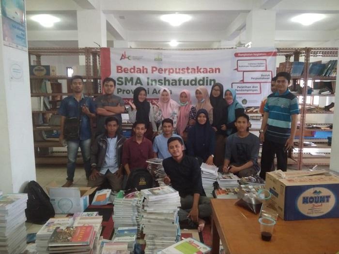 SMA Inshafuddin Banda Aceh Kembangkan Otomasi Perpustakaan