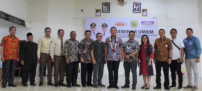 Buka Seminar UMKM Indomaret, Wabup Dairi Berharap Hasil Produksi Dairi Masuk Gerai Indomaret
