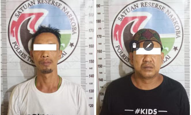 Sat Res Narkoba Polres Tanjung Balai Amankan Dua Napi Lapas Kelas ll B Kota Tanjung Balai