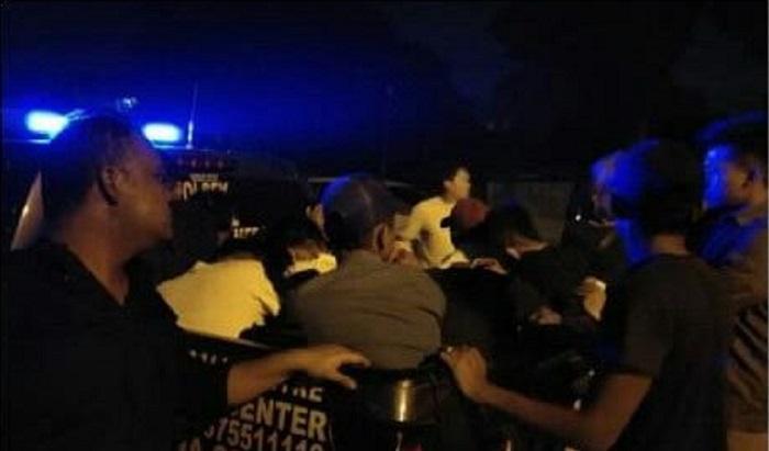 Polsek Sunggal Razia Tempat Hiburan Malam, 14 Orang Diamankan