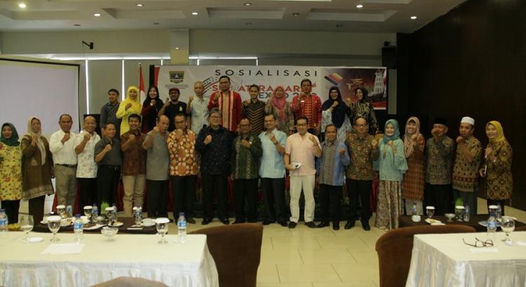 Pemprov Sumut Apresiasi Sumbar Expo 2019 Digelar di Kota Medan