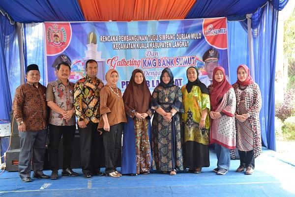 Bank Sumut Cabang Stabat, Canangkan Pembangunan Tugu Simpang Durian Mulo