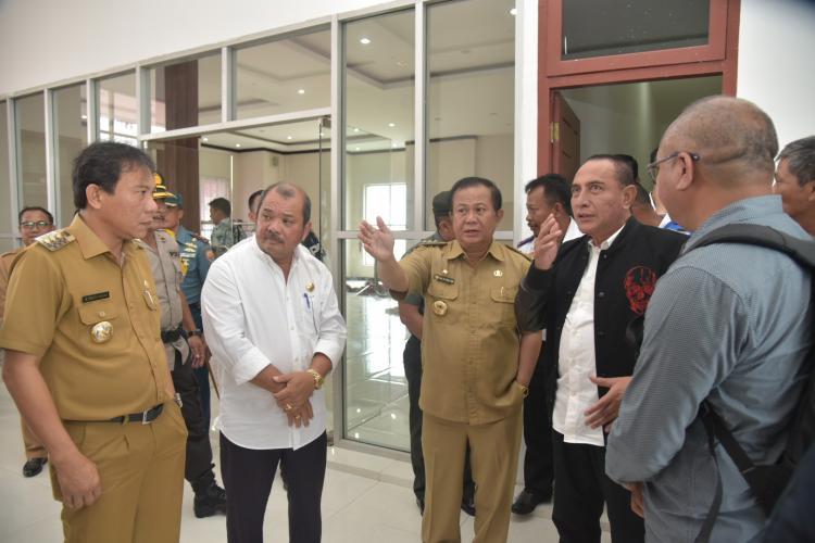 Tinjau Persiapan Sail Nias 2019, Edy Rahmayadi Soroti Ruang Tunggu VIP Bandara