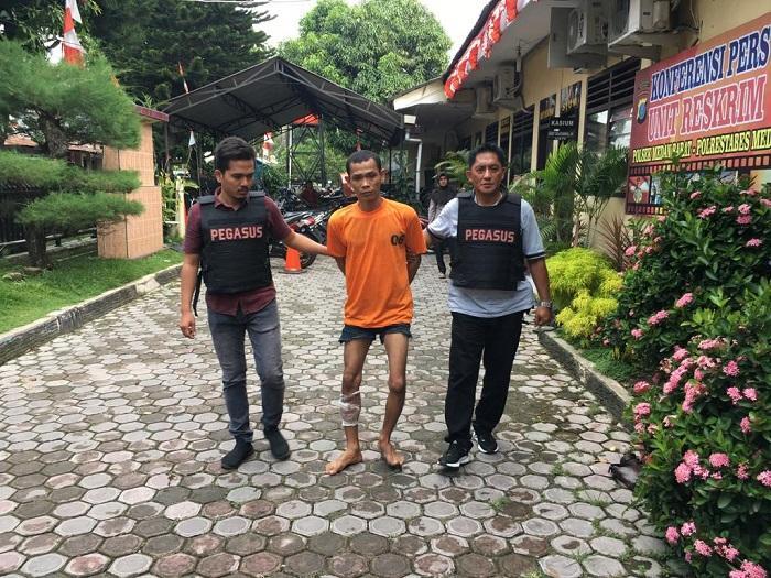 Luhut Tertangkap Mencuri, Residivis Ini Terpaksa Ditembak Polisi