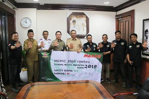 Walikota Medan Terima Audiensi dari Motor Elite Modified Community
