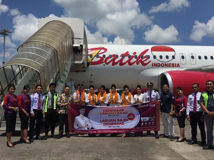 Batik Air Resmi Terbang dari Denpasar ke Labuan Bajo