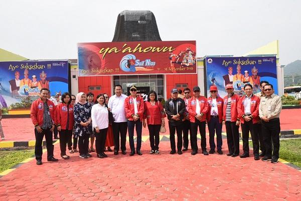 Kedatangan Menkumham dan Menteri DPDT Diharapkan Perkuat Sinergitas Pembangunan di Nias