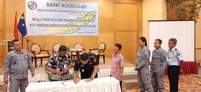 Bakamla RI Bentuk Forum Kerjasama Kamlamla di Sulawesi Utara