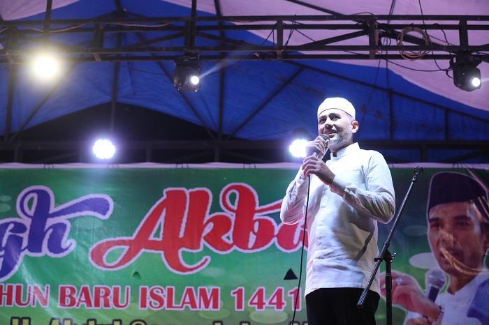 Tabligh Akbar UAS di Sinunukan, Wagub Sumut Serukan Jaga Kekompakan