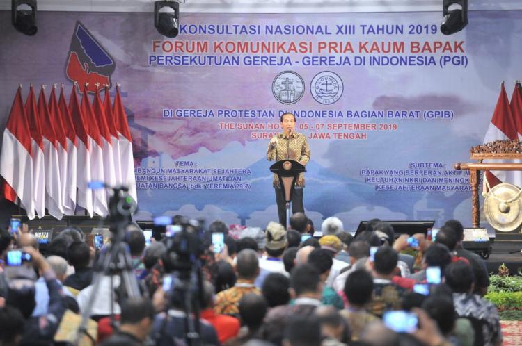 Pola Interaksi Sosial Berubah, Presiden Jokowi Ingatkan Pentingnya Kasih Saya Dalam Keluarga