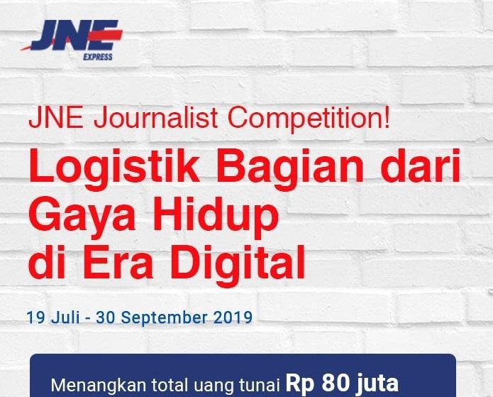 Ultah ke-29 JNE Gelar Kompetisi Menulis untuk Jurnalis se-Indonesia