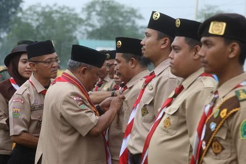 Kwarcab Pramuka Medan Gelar Gemapanitra Memperebutkan Piala Wali Kota Medan