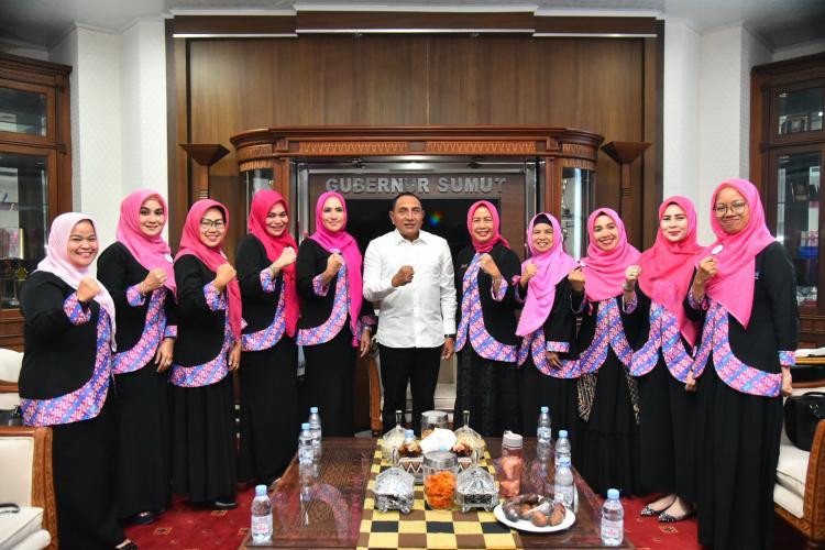 Terima Silahturahmi IPEMI Sumut, Edy Rahmayadi Harapkan Bisa Bersinergi