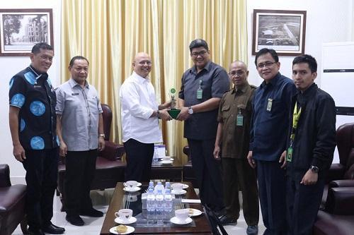 Walikota Medan Terima Kunjungan Tim Pembentukan Balai Diklat MA