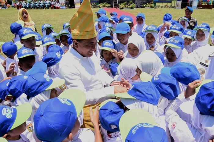Harganas XXVI Provinsi Sumut, Gubernur Tekankan Pentingnya Membina Keluarga