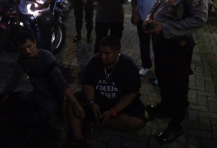 Polrestabes Medan Tangkap Dua Pengedar Sabu di Simpang Selayang, Pelaku Menangis Minta Pulang