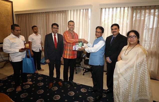Terima Delegasi Bisnis India, Wagub Sumut Tawarkan Pengembangan Ternak Kerbau