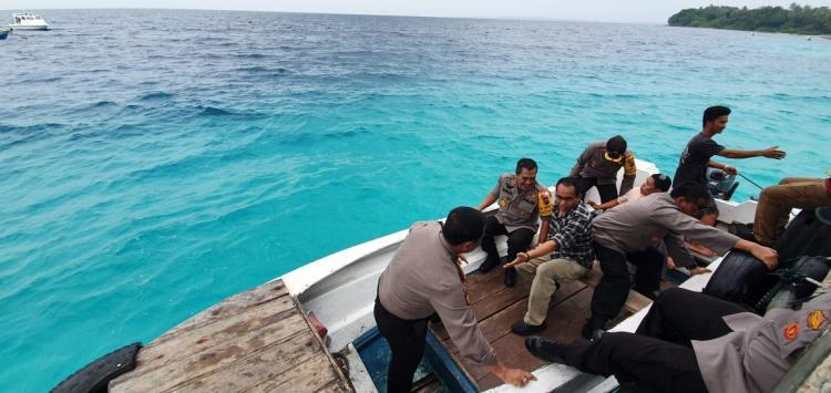 Kapolda Sumut Tinjau Keamanan Pulau Asu di Nias Barat