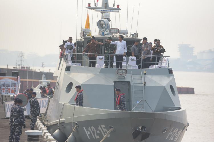 Terbaik Dibanding 3 Lainnya, Presiden Jokowi Apresiasi Kawasan Waterfront City Sungai Kapuas