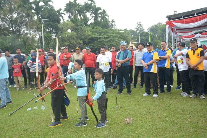 Kick Off Gala Desa Tingkat Kabupaten Deli Serdang, Wabup: Jadikan Ajang Berprestasi