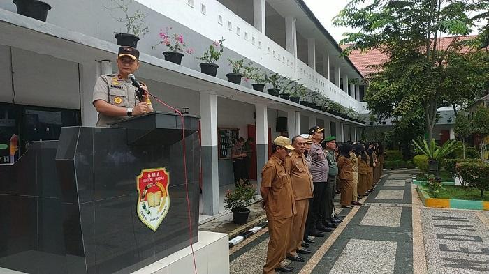 Irup di SMAN 1 Medan, Wakapolda Sumut: Pelajar Harusnya Belajar
