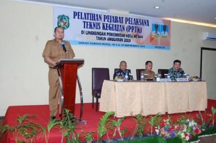 151 PPTK Pemko Medan Ikuti Pelatihan Pengelolaan Dana Kelurahan