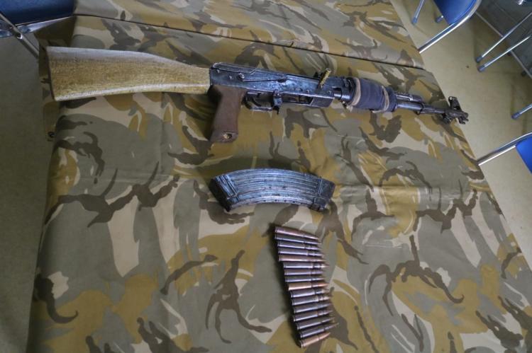 Eks Combatan Kongo Kembali Serahkan Senjata ke Satgas TNI Konga