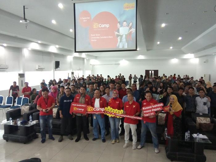 Indosat Ooredoo Digital Camp Hadir di USU, Bagikan 10.000 Beasiswa Coding Bersertifikat Global