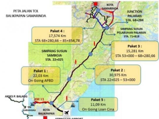 Jalan Tol Pertama di Ibu Kota Negara Baru Ditargetkan Beroperasi Akhir Oktober