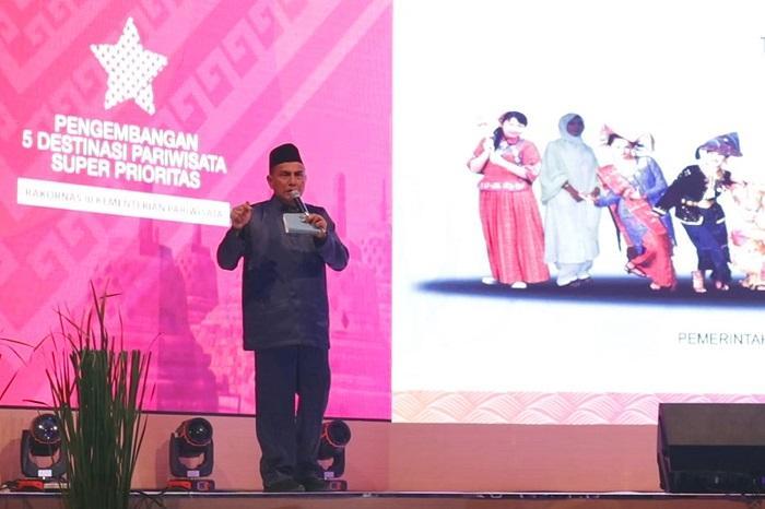 Rakornas Pariwisata III di Jakarta, Edy Rahmayadi Paparkan 3 Prioritas Pengembangan Pariwisata Danau Toba