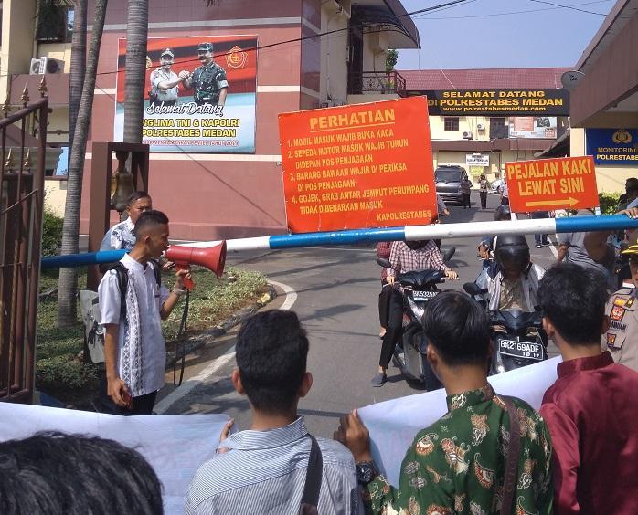 Polrestabes Medan Didesak Tutup Cafe Duku di Kutalimbaru