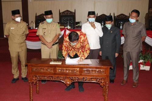 DPRD Setujui PAPBD Kota Medan TA 2020