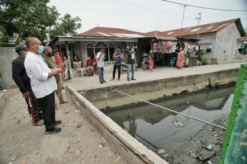 Plt Walikota Medan Instruksikan Segera Atasi Pendangkalan Drainase