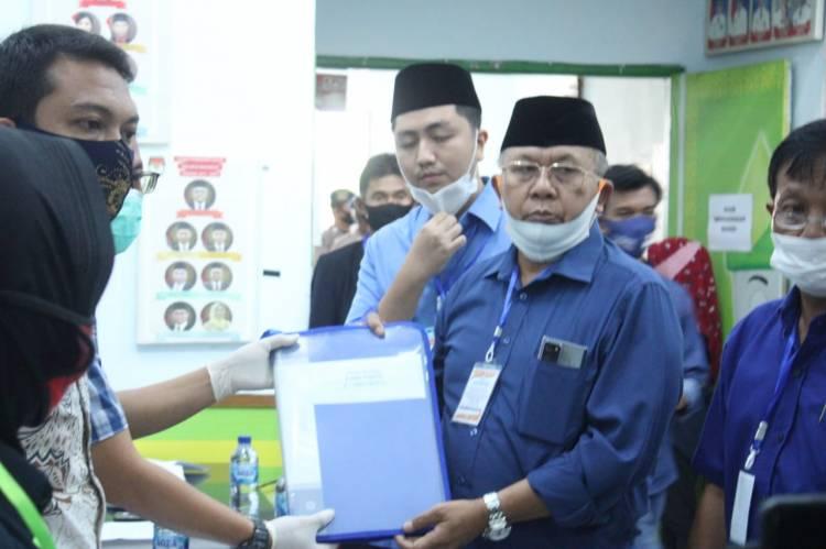 Setelah 2 Kali Ditolak, Bapaslon Soekirman-Tengku Ryan Resmi Mendaftar ke KPU Sergai