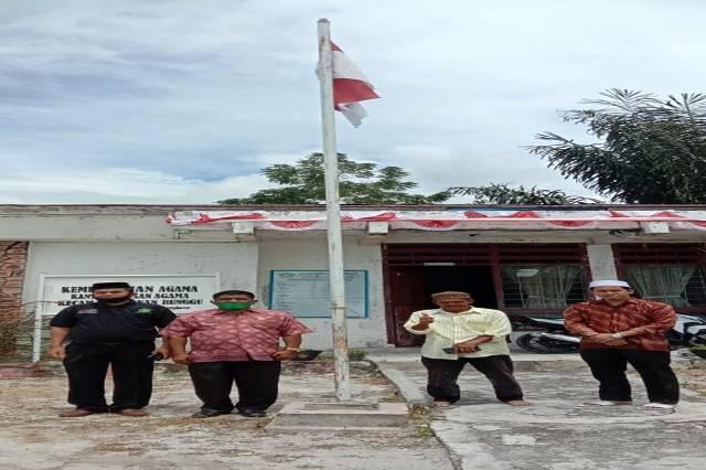 Kankemenag Samosir Monev ke KUA Onan Runggu, Pesankan Ikuti Protokol Kesehatan