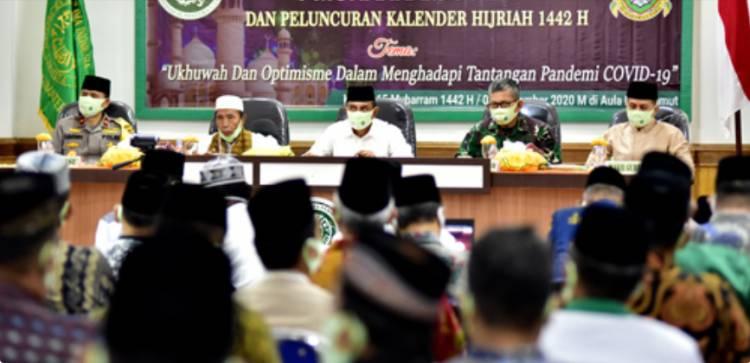 MUI Sumut Rayakan Tahun Baru Islam 1442 H, Gubernur Edy Rahmayadi Ajak Ulama Tuntaskan Pandemi Covid-19