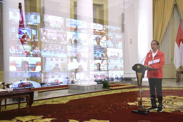 Presiden Minta Menpora, KONI, dan KOI Tingkatkan Prestasi Olahraga