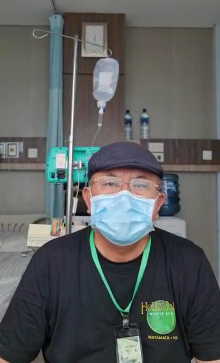 Bupati Sergai Positif Covid-19, Ir H Soekirman Jalani Isolasi di RS