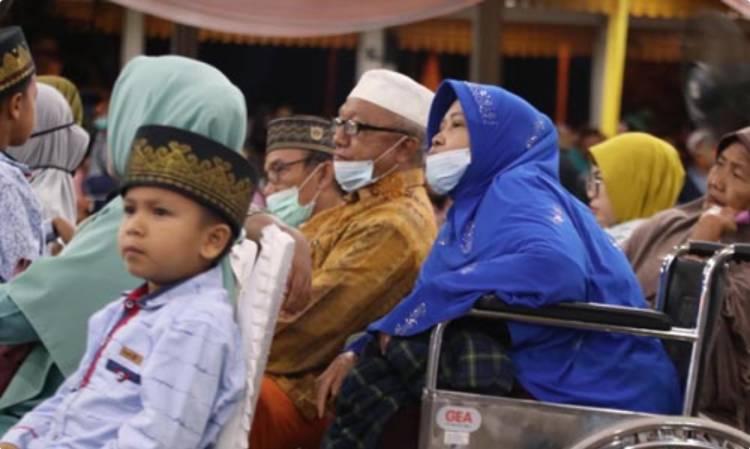 Final MTQ ke-37 Sumut, Kursi Pengunjung di Lapangan Astaka Tebingtinggi Penuh