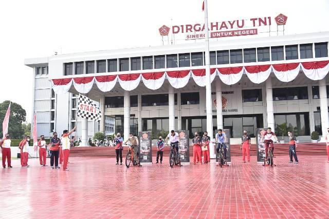 Panglima TNI Buka Lomba Bersepada TNI-Pacific Virtual Fun Bike Tahun 2020